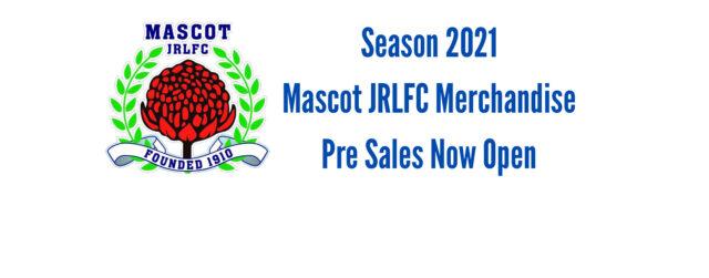 2021 Merchandise Pre Sales Now Open