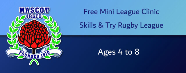 FREE Try Rugby League Clinic